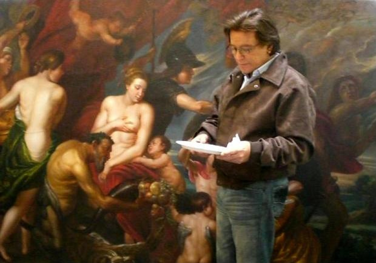 Tony and Michelangelo