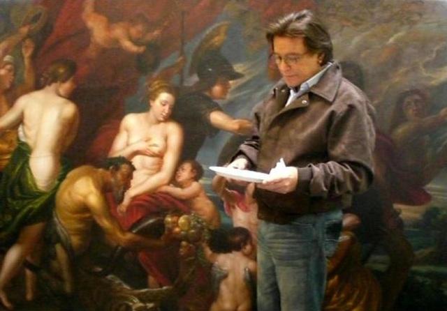 Tony and Michelangelo