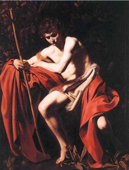 Caravaggio's St. John The Baptist by Tony