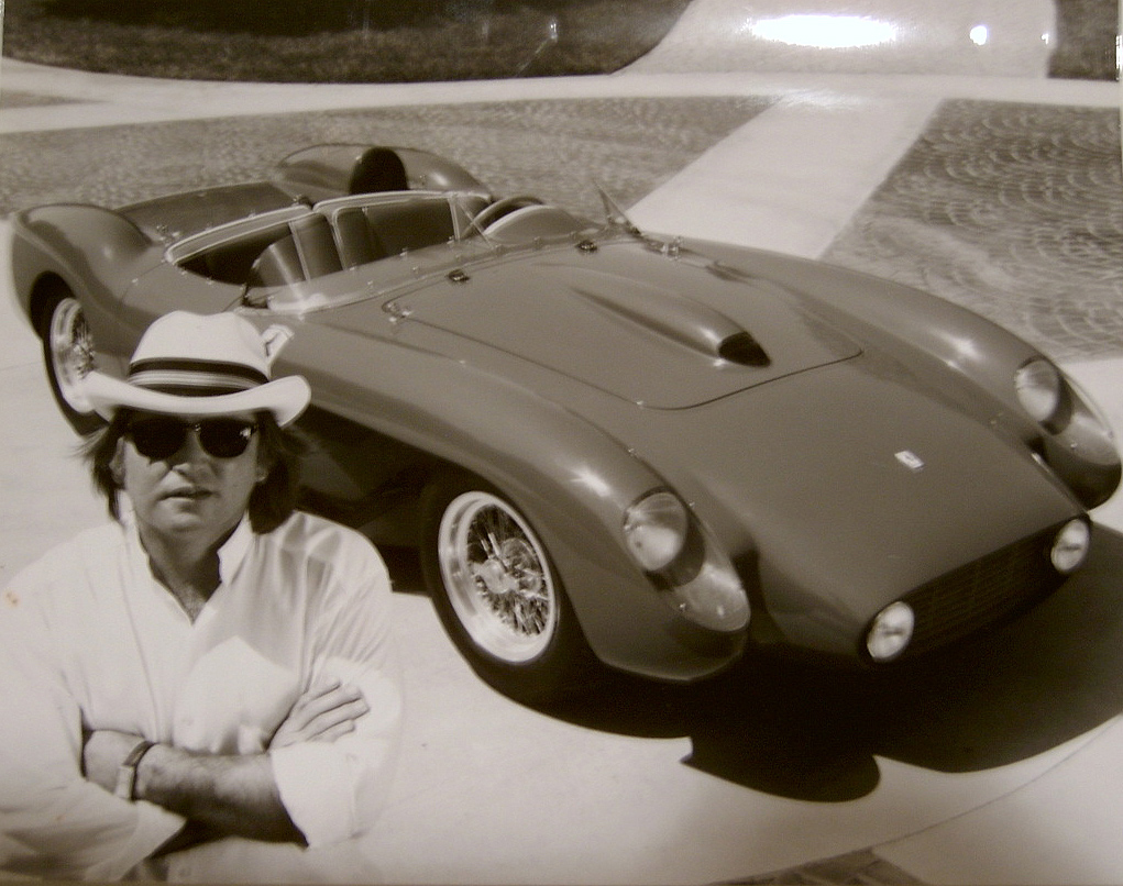 Tony in Front of His 58 Testarossa