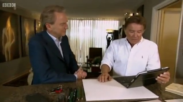 "Tony Appears on BBC ""Fake of Fortune"""