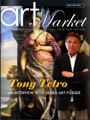 Tony Tetro Art Market Magazine