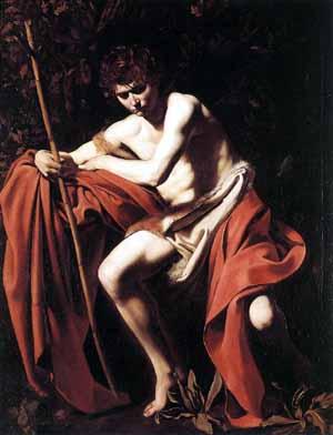 Caravaggio,St John the baptist